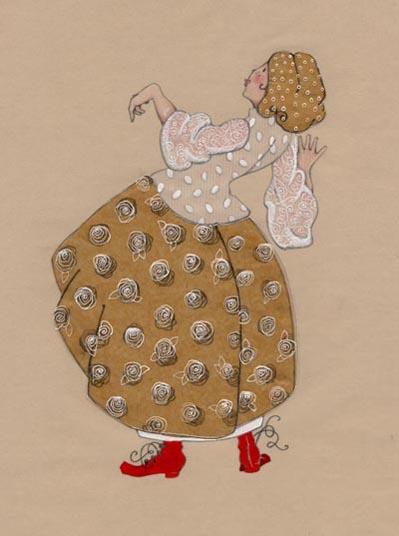 jeune fille avec des bottines rouges