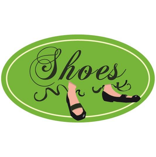 modèle pour le sac à chaussures